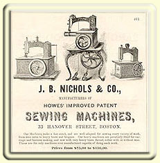 old sewing machine ad.