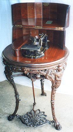 wheeler and wilson sewing machine history