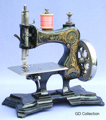 Toy sewing machine casige no 3 for Machine a coudre jouet