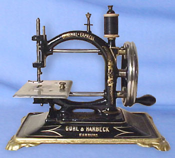 the origin and history of the sewing machine Sewing revolution: the machine that changed the world jamie h eves, beverly l york, carol buch, and michele palmer windham textile and history museum.