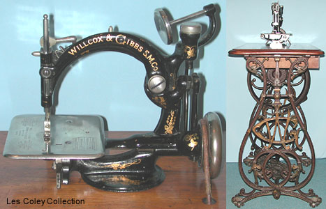 Old Sewing Machine Willcox And Gibbs Custom Willcox And Gibbs Sewing Machine